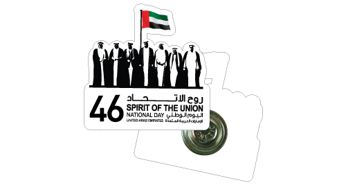 Acrylic National Day Badges - NDB-01