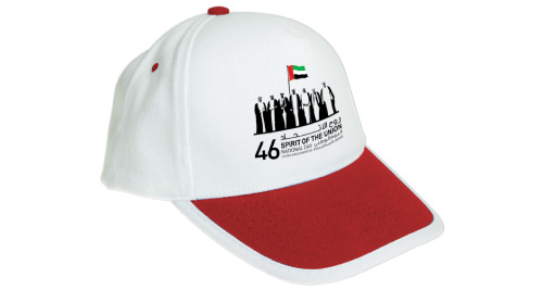UAE National Day Cap - Red Color