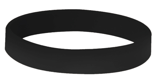 Wristbands - 014 - Black