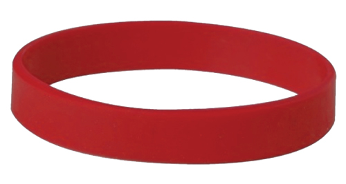 Wristbands - 014 - Red