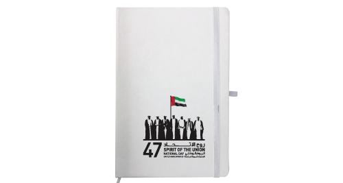 National Day Leather Notebook A5 Size