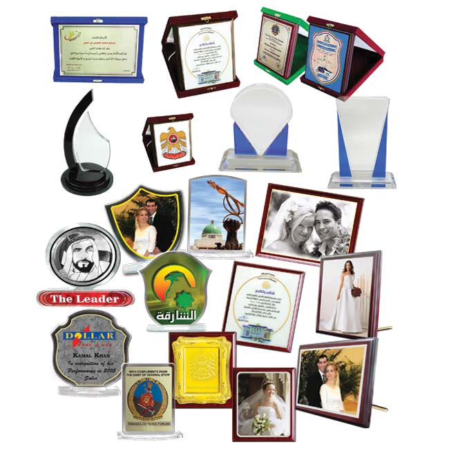 Acrylic Awards & Wooden Plaques